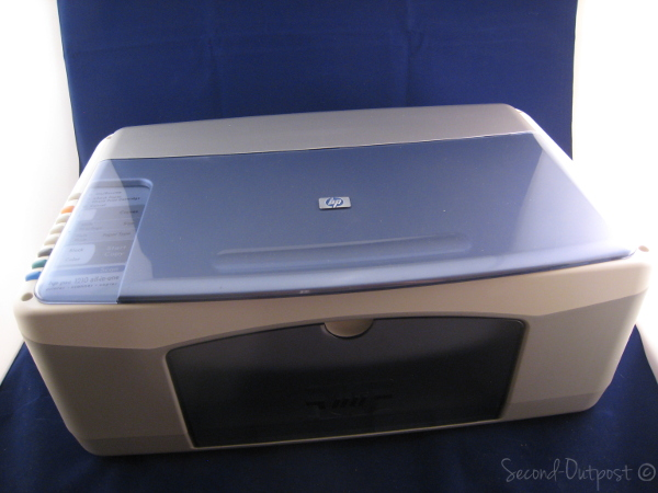 hp psc 1210 all in one inkjet printer scanner copier. Black Bedroom Furniture Sets. Home Design Ideas