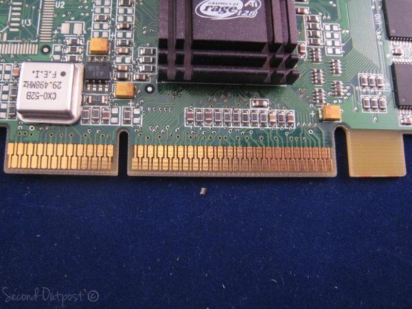 ATI  109-51800-01   Rage128 Pro 2X AGP 16MB Video Card