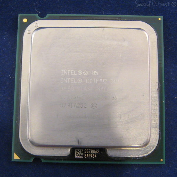 DRIVER: INTEL R CORE TM 2 DUO CPU E4400