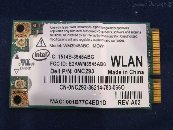 intel wm3945abg driver windows 7