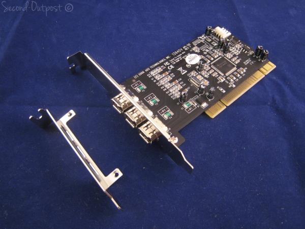 Ads tech api315 pyro pci 3 ports firewire pci card.