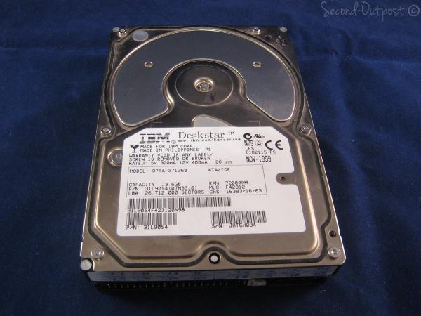 IBM Deskstar 34GXP 13 6 GB Internal 7200 RPM 3 5