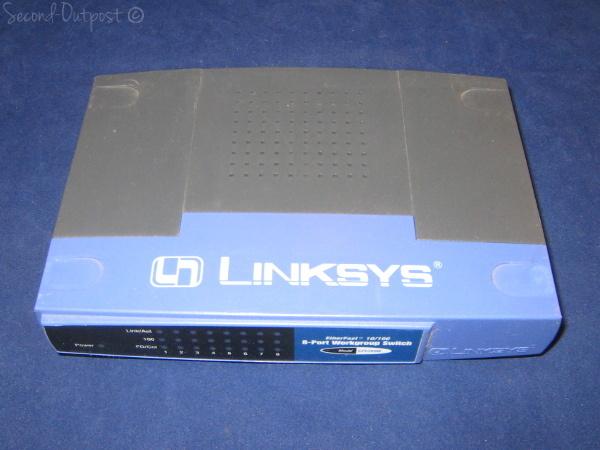 EZXS88W Linksys EtherFast 10/100 8-Port Workgroup Switch